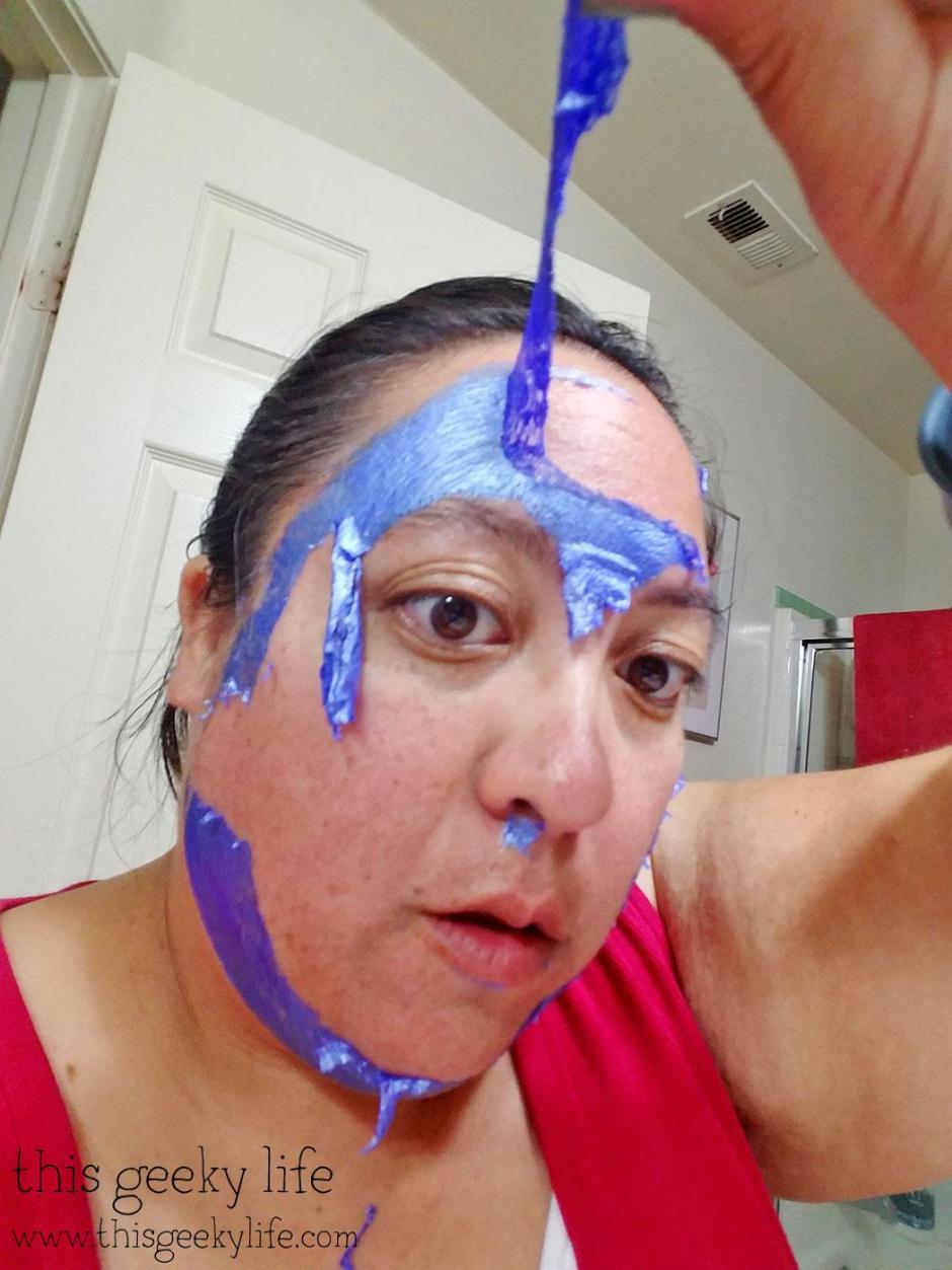 Peeling off the GlamGlow