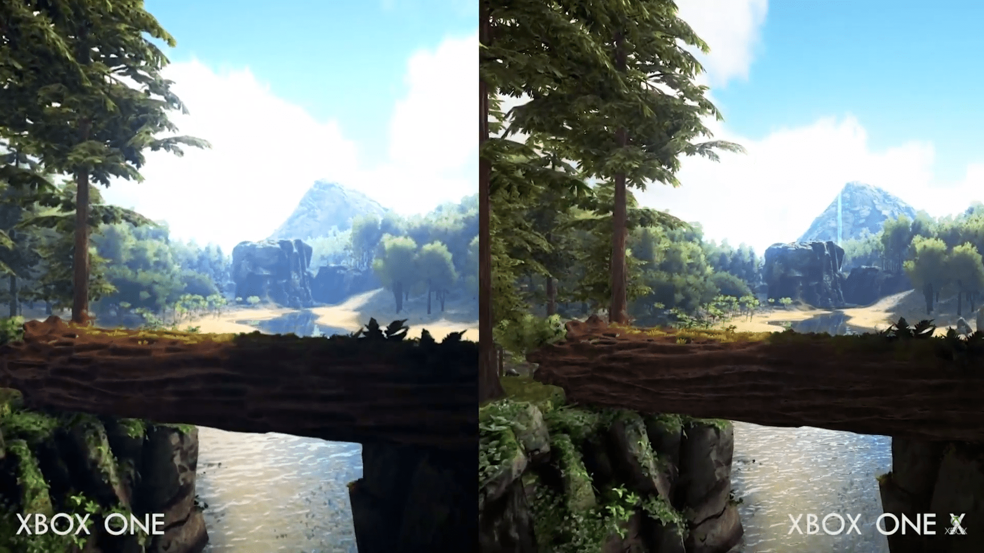 Ark Survival Evolved Xbox One Vs Xbox One X Comparison