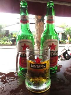 Homegrown beer