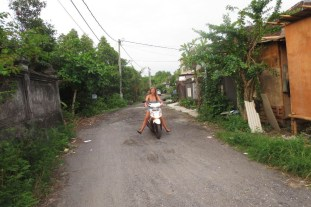 Riding a motorbike for the first time before it was ruined for me
