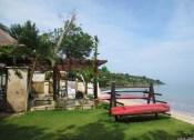 The nicer end of Jimbaran Beach