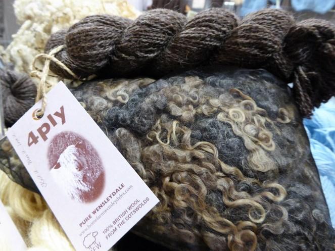 Homefarm Wensleydale wool redux