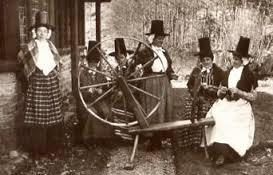 Welsh knitters