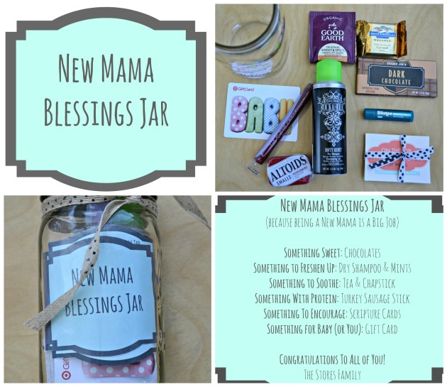 New Mama Blessings Jar | thisgratefulmama.com