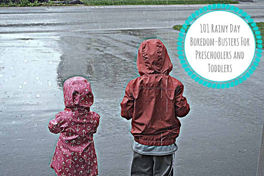 101 Rainy Day Boredom-Busters For Preschoolers and Toddlers | www.thisgratefulmama.com