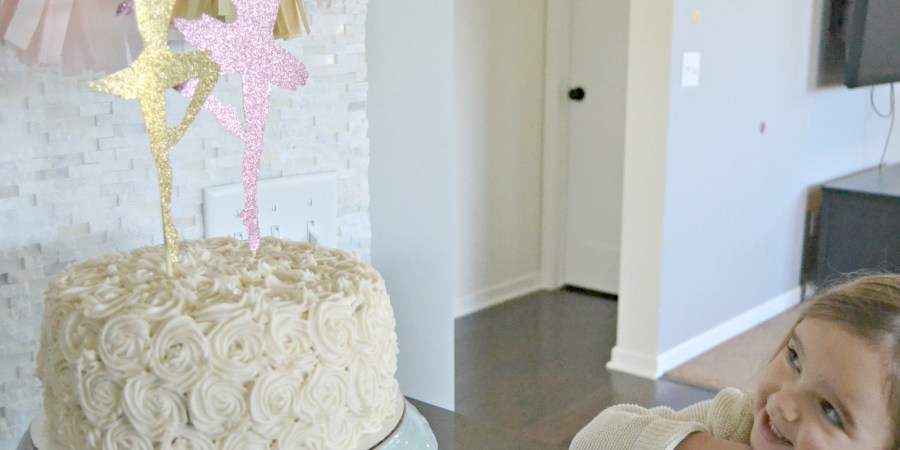A Ballerina 3 Year Old Birthday A Homemade Ballerina Birthday Cake