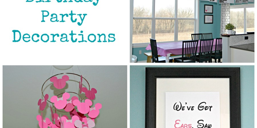 Minnie Mouse 4th Birthday Party Decorations | thisgratefulmama.com