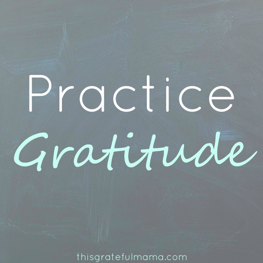 Practice Gratitude (and 6 Topics to Start Filling a Gratitude Journal) | thisgratefulmama.com
