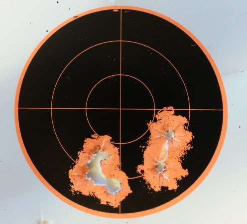 First 5 Shots: 10 yards S&B 115gr FMJ