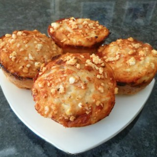 Healthy Pizza Muffins