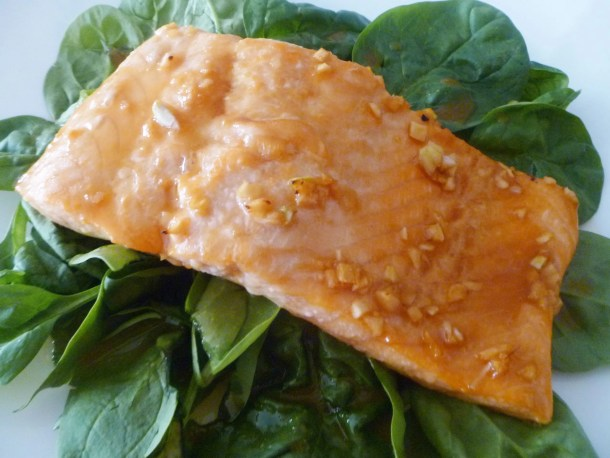 Honey Orange Baked Salmon