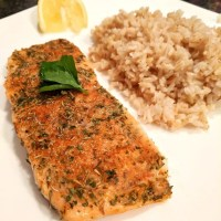 Healthy Blackened Salmon