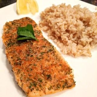 Healthy Blackened Salmon