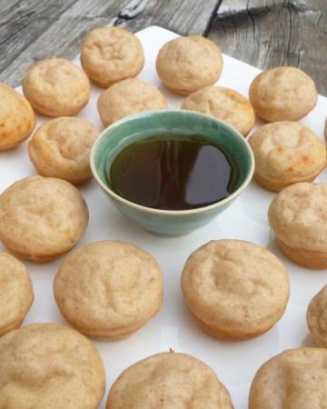 Maple Mini Muffin Pancakes