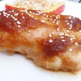 Apple Teriyaki Chicken