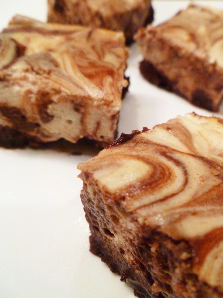 Maple Cheesecake Brownies