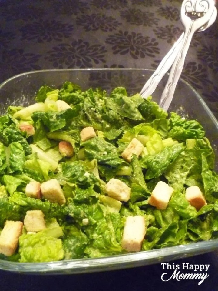 Wow, my family loves this salad! If you love creamy salads, Avocado Caesar Salad is rich, creamy, and healthy too! That's right, it's made without oil, fat, or cheese, instead, it's packed with healthy avocados. You can enjoy this salad with fish, chicken, or even steak. The possibilities are endless! Healthy Clean Eating Salad Recipes   Healthy Salad Bowl Dinners   Healthy Homemade Salad Dressing   Healthy Low Calorie Soup Recipes   #recipes #salad #appetizer #dinner #healthyrecipe   thishappymommy.com