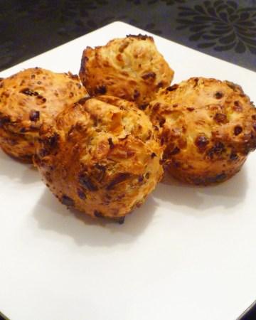 Savoury Cottage Cheese Muffins
