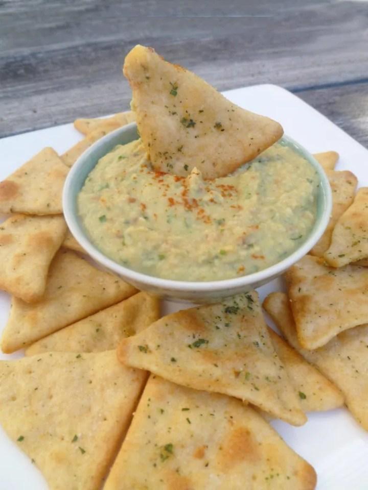Skinny Homemade Hummus