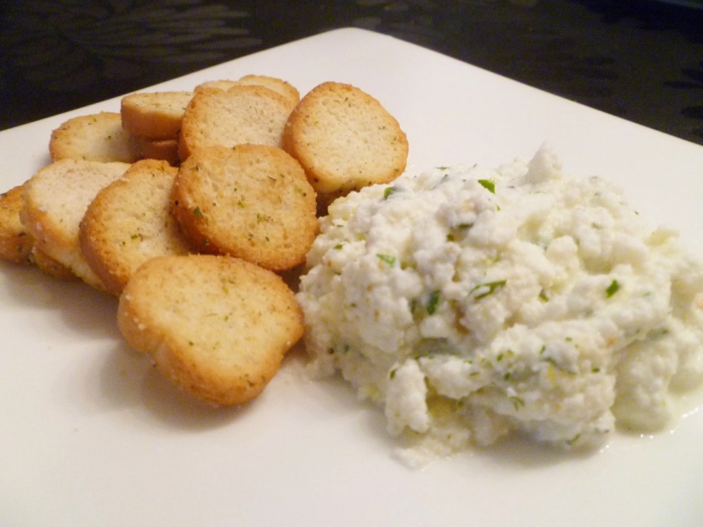 Warm Ricotta Cheese Dip