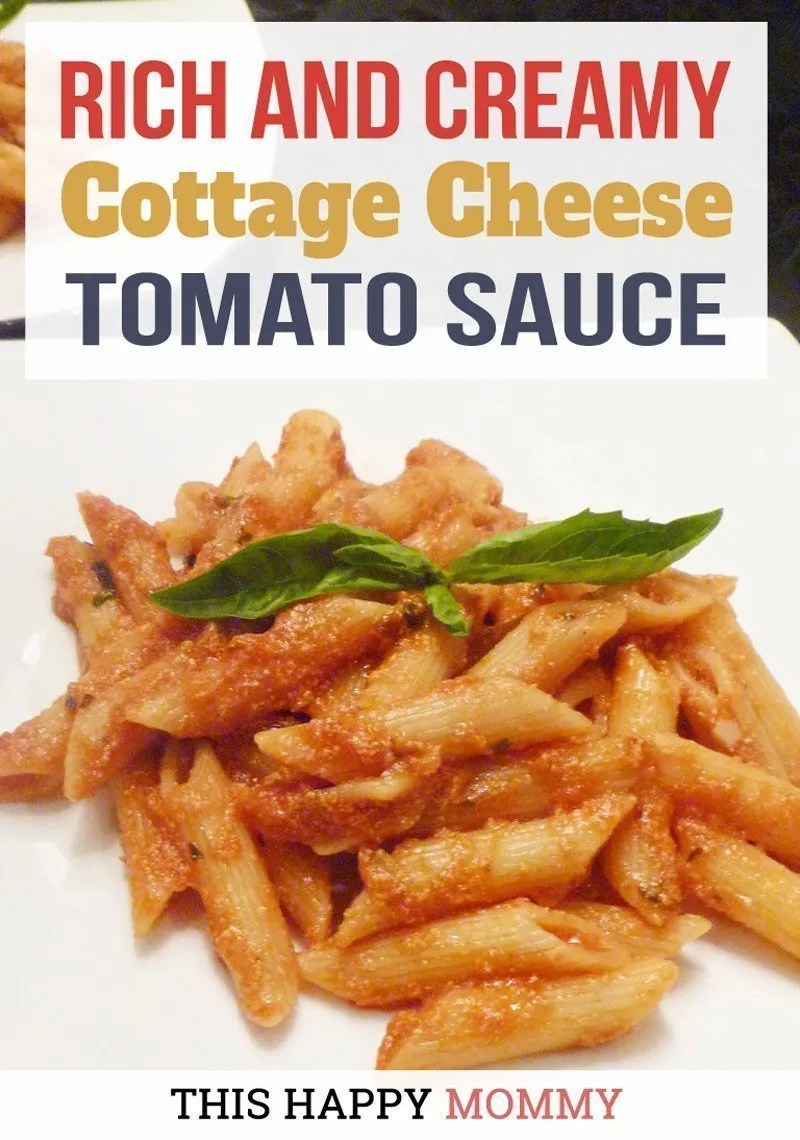 Cottage Cheese Tomato Sauce This Happy Mommy