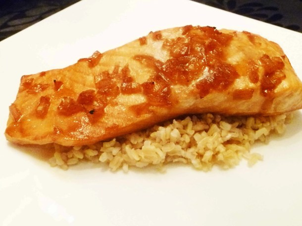 Cranberry Glazed Salmon
