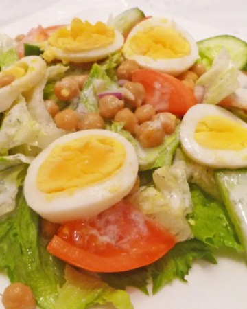 Creamy Dill Cobb Salad