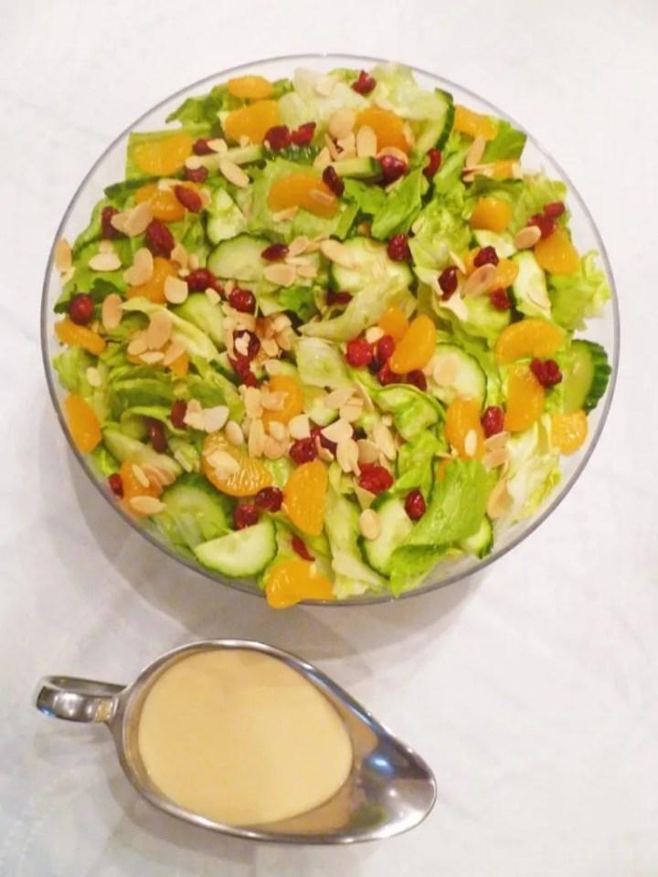 Creamy Orange Salad