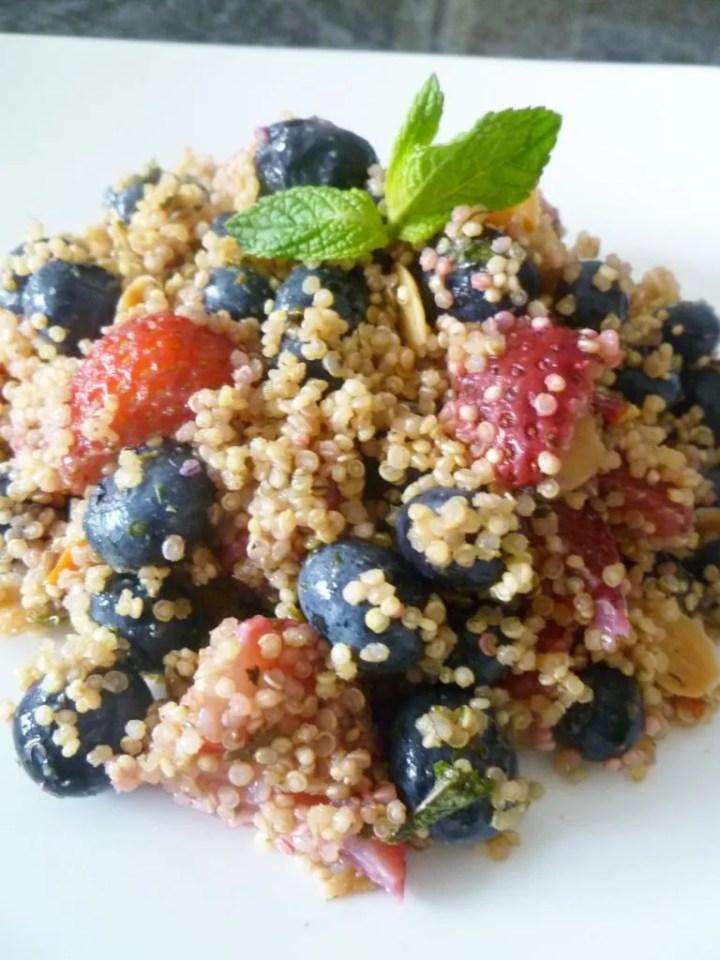 Berry Nutty Quinoa Salad