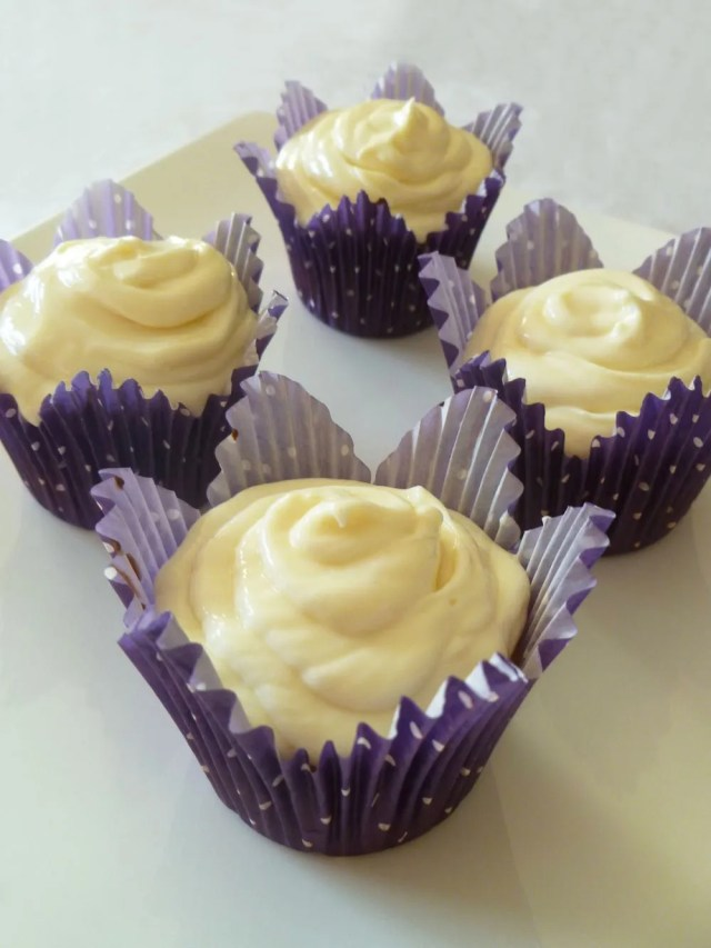 Yummy Vanilla Cupcakes -- Fluffy and moist homemade vanilla cupcakes, perfect for any occasion. | thishappymommy.com
