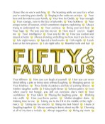 Fifty and Fabulous - Download-pic