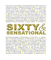 Sixty and Sensational