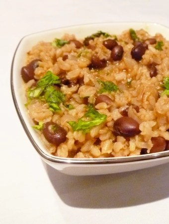 Mexican Rice and Black Beans Bowl