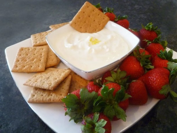 Skinny Cheesecake Dip