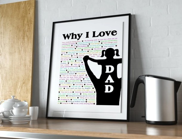 Why I Love Dad - With one special day to celebrate Dad, tell him all the reasons that you love him. | thishappymommy.com