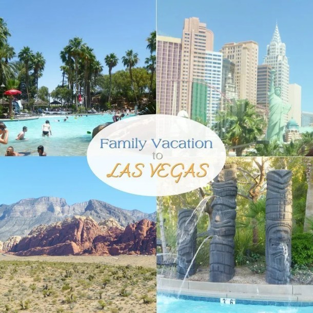 Family Vacation to Las Vegas -- Looking for a wonderful family vacation? Las Vegas can be a fun, relaxing vacation. #vacation #holiday #family | thishappymommy.com