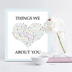 Things We {Love} About You