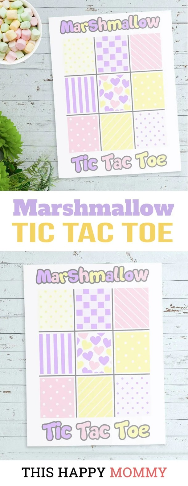 If you love family fun time, this is the perfect game for you! Marshmallow Tic Tac Toe is a fun and tasty version of Tic Tac Toe. You can download your own copy for FREE!DIY gifts | family game night | family time | DIY crafts | last minute gifts | gifts for kids | #gift #diy #game #familytime | thishappymommy.com