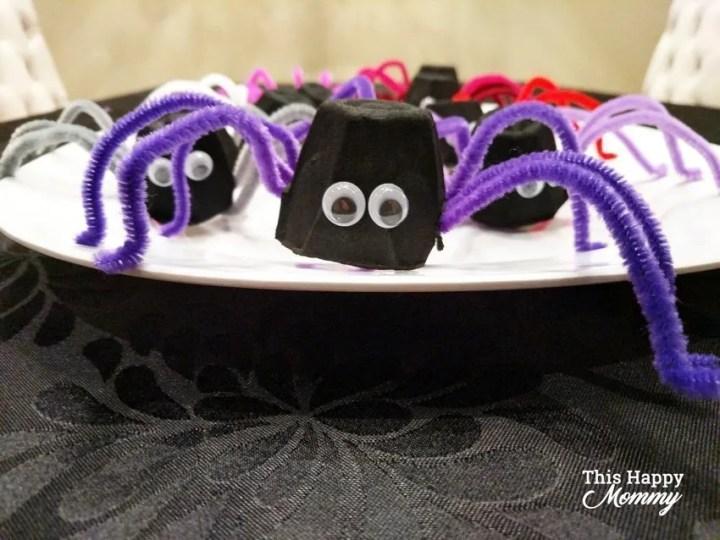 Trick-Or-Treat Halloween Spiders