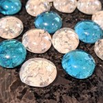 DIY Cracked Glass Gem Magnets