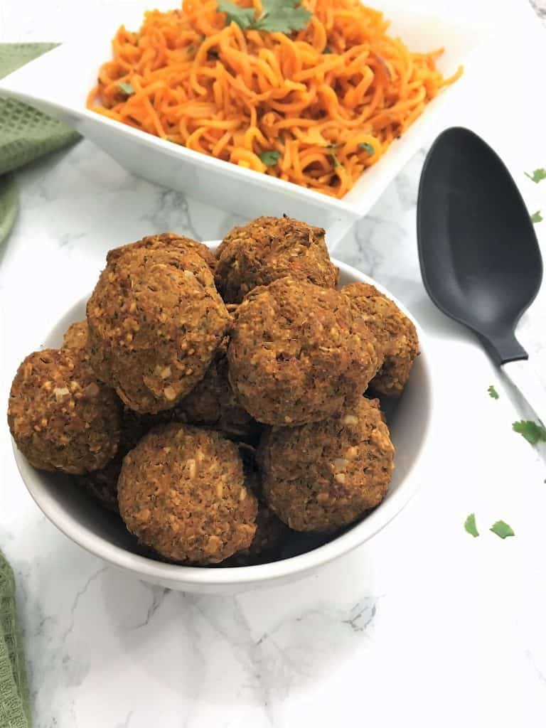 Vegan Meatballs - Gluten Free