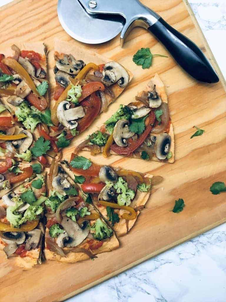 Lentil Pizza Crust - Dairy & Gluten Free