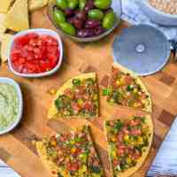 Oil Free Socca Bread (Chickpea Flatbread)