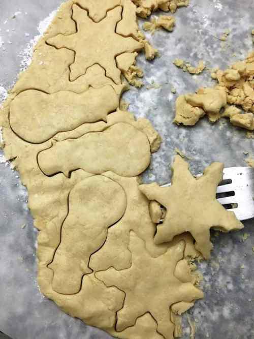 Shortbread Cookies Prep
