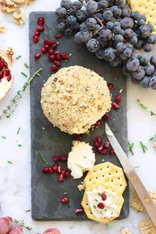 Vegan Blueberry - Vegan Cheese ball