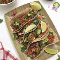 Easy Vegan Tacos [GF+Oil Free]