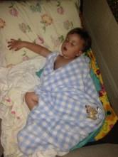 sleeping through the party!