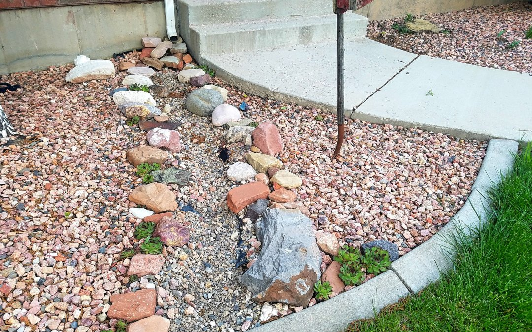 How To Keep River Rock In Place On A Slope Archives This Homemade Home