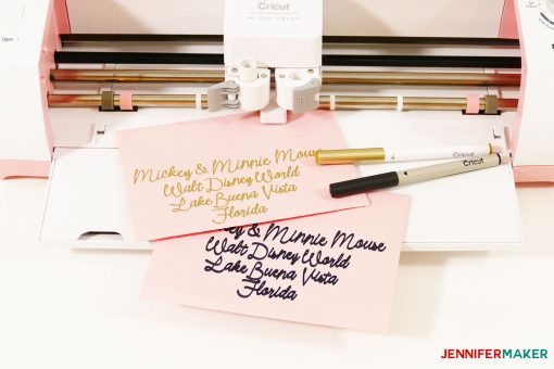 How To Address Envelopes With Your Cricut