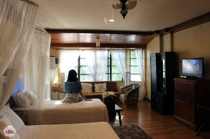 Potipot Gateway Riverside Villa room on the second floor